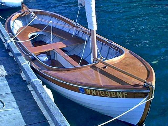 Scud II– 16' Norwegian Double-ender | Bartender Boats